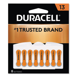 ESDURDA13B8ZM09 - HEARING AID BATTERY, #13, 8-PACK