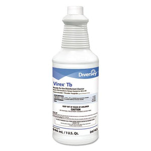 ESDVO04743 - Tb Disinfectant Cleaner, Lemon Scent, Liquid, 32 Oz Bottle, 12-carton