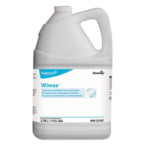 ESDVO94512767 - WIWAX CLEANING AND MAINTENANCE SOLUTION, LIQUID, 1 GAL BOTTLE, 4-CARTON