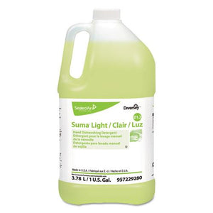 ESDVO957229280 - SUMA LIGHT D1.2 HAND DISHWASHING DETERGENT, CITRUS, 1 GAL CONTAINER, 4-CARTON