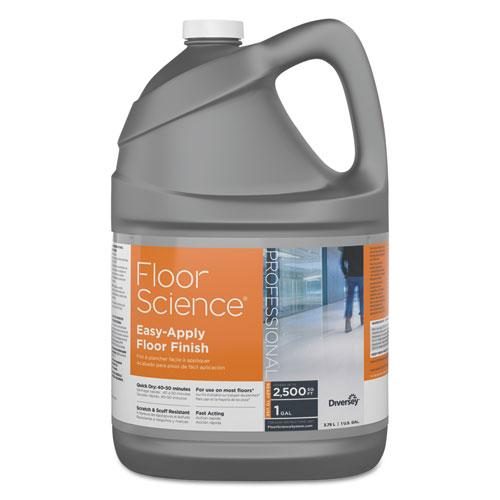 ESDVOCBD540397 - Floor Science Easy Apply Floor Finish, Ammonia Scent, 1 Gal Container, 4-carton