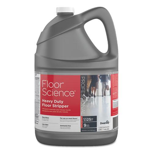 ESDVOCBD540434 - Floor Science Heavy Duty Floor Stripper, Liquid, 1 Gal Bottle, 4-carton