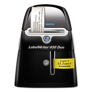 "ESDYM1752267 - Labelwriter Duo Printer, 2 3-10"" Labels, 71 Label-min, 5 1-2w X 7 4-5d X 7 3-10h"