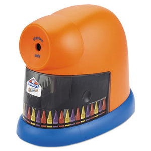 ESEPI1680 - Crayonpro Electric Crayon Sharpener With Replacable Blade, Orange