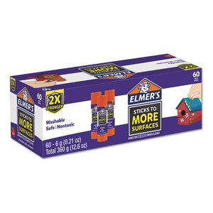 ESEPI2027017 - EXTRA-STRENGTH SCHOOL GLUE STICKS, 0.21 OZ, PURPLE-CLEAR, 60-CARTON
