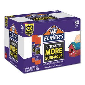 ESEPI2044283 - EXTRA-STRENGTH SCHOOL GLUE STICKS, 0.21 OZ, PURPLE-CLEAR, 30-CARTON