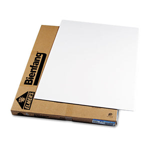 ESEPI900803LMR - Polystyrene Foam Board, 30 X 40, White Surface And Core, 10-carton