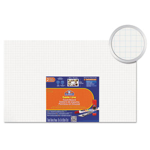 ESEPI905100 - Guide-Line Paper-Laminated Polystyrene Foam Display Board, 30 X 20, White, 2-pk