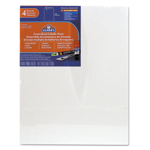 ESEPI950021 - White Pre-Cut Foam Board Multi-Packs, 11 X 14, 4-pk