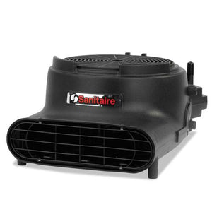 ESEUR6055A - DRY TIME AIR MOVER, DAISY CHAIN CAPABLE, 3400 FPM, BLACK, 120 V