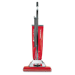"ESEUR899 - TRADITION UPRIGHT VACUUM, 16"" WIDE PATH, 18.5 LB, RED"
