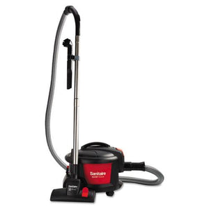 "ESEURSC3700A - EXTEND TOP-HAT CANISTER VACUUM, 9 AMP, 11"" CLEANING PATH, RED-BLACK"