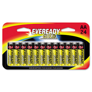 ESEVEA91BP24HT - Gold Alkaline Batteries, Aa, 24 -pk