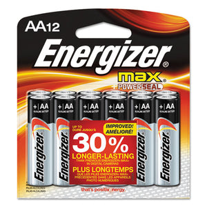 ESEVEE91BW12EM - Max Alkaline Batteries, Aa, 12 Batteries-pack