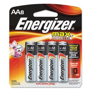 ESEVEE91MP8 - Max Alkaline Batteries, Aa, 8 Batteries-pack