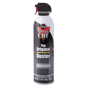 ESFALDPSJMB - Disposable Compressed Air Duster, 17 Oz Can