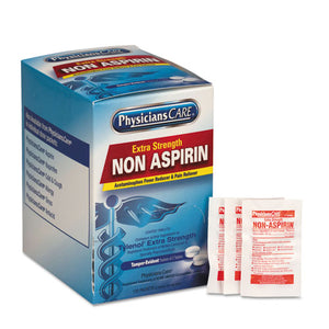 ESFAO40800 - Pain Relievers-medicines, Xstrength Non-Aspirin Acetaminophen,2-packet,125 Pk-bx