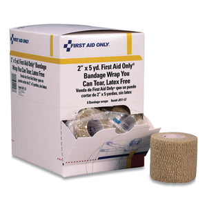 "Bandage Wrap You Can Tear, 2"" X 15 Ft, 8-box"