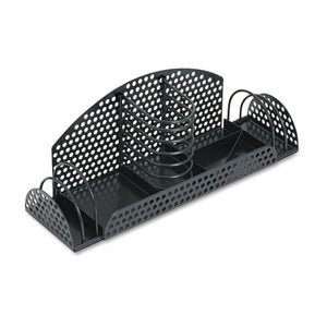 ESFEL22326 - Perf-Ect Multi Desk Organizer, Metal-wire, 12 7-8 X 4 X 4 3-4, Black