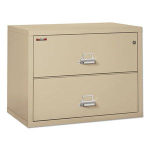 ESFIR23822CPA - TWO-DRAWER LATERAL FILE, 37 1-2W X 22 1-8D, UL LISTED 350, LTR-LEGAL, PARCHMENT