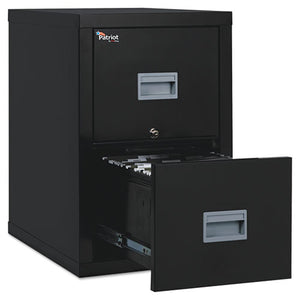 ESFIR2P1825CBL - PATRIOT INSULATED TWO-DRAWER FIRE FILE, 17 3-4W X 25D X 27 3-4H, BLACK