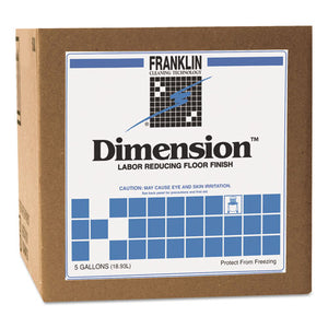 Dimension Labor Reducing Floor Finish, 5gal Cube