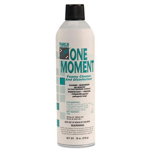 ESFKLF803215 - One Moment Foamy Cleaner And Disinfectant, Citrus, 18oz. Aerosol Can, 12-ct