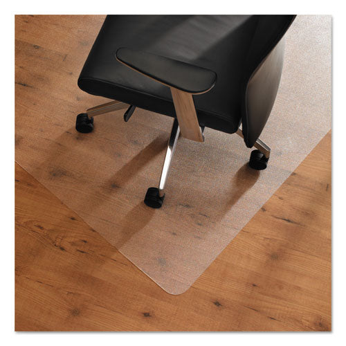 ESFLREC128920ERA - CLEARTEX UNOMAT ANTI-SLIP CHAIR MAT FOR HARD FLOORS-FLAT PILE CARPETS, 35 X 47