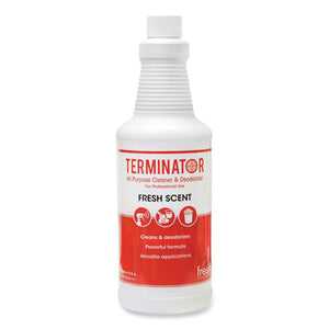 Terminator All-purpose Cleaner-deodorizer, 32 Oz Refill Bottles, 12-carton