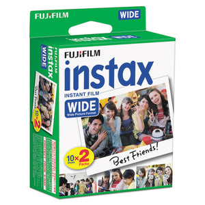 ESFUJ16468498 - Instax Wide Film Twin Pack, 800 Asa, 20-Exposure Roll