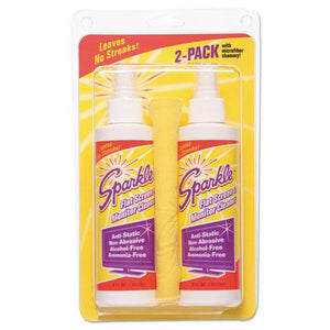 ESFUN50128 - Flat Screen & Monitor Cleaner, Pleasant Scent, 8 Oz Bottle, 2-pack