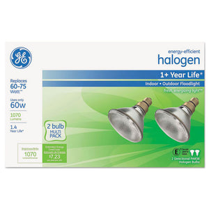 ESGEL66280 - ENERGY-EFFICIENT PAR38 HALOGEN BULB, 60 W, 2-PACK