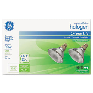 ESGEL66282 - ENERGY-EFFICIENT PAR38 HALOGEN BULB, 90 W, 2-PACK