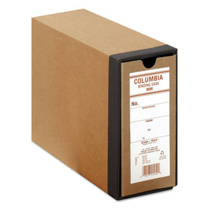 "ESGLWB50H - Columbia Recycled Binding Cases, 3 1-8"" Cap, 11 X 8 1-2, Kraft"