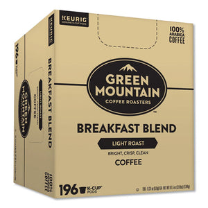 Breakfast Blend Bulk K-cups, 196-carton
