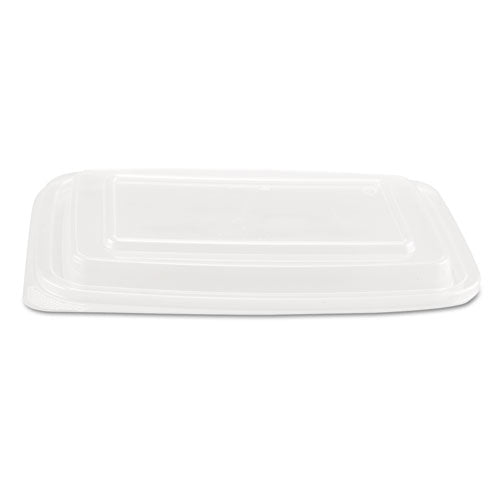 ESGNPFPR932 - Microwave Safe Container Lid, Plastic, Fits 24-32 Oz, Rectangular, Clear, 75-bag
