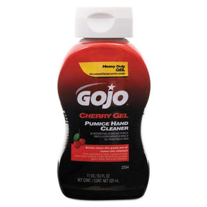 ESGOJ235408 - Cherry Gel Pumice Hand Cleaner, 10 Oz Bottle, 8-carton