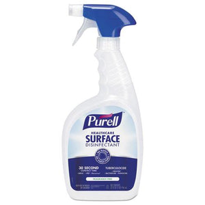 ESGOJ334012 - Healthcare Surface Disinfectant, Fragrance Free, 32 Oz Spray Bottle, 12-carton