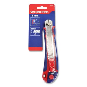 Plastic Snap-off Knife, 18 Mm, 5 Self-loading Blades