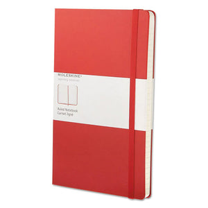 ESHBGQP060R - Ruled Classic Notebook, 8 1-4 X 5, Red Cover, 240 Sheets