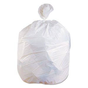 ESHERH6639EW - Low-Density Can Liners, 33 Gal, 0.75 Mil, 30 X 39, White, 150-carton