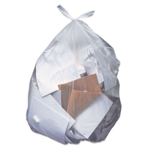 ESHERH8046AC - Low-Density Can Liners, 40-45 Gal, 1.5 Mil, 40 X 46, Clear, 100-carton