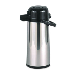 ESHORPAE22B - Commercial Grade 2.2l Airpot, W-push-Button Pump, Stainless Steel-black