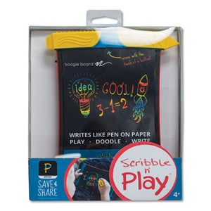 "ESIMV100013 - SCRIBBLE N' PLAY, 5"" X 7"" SCREEN, BLACK-RED-YELLOW"