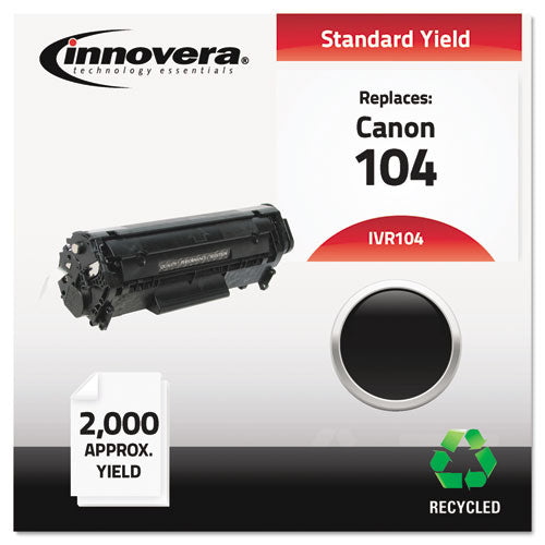 ESIVR104 - Remanufactured 0263b001aa (104) Toner, Black