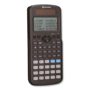 ESIVR15970 - ADVANCED SCIENTIFIC CALCULATOR, 417 FUNCTIONS, 15-DIGIT LCD, FOUR DISPLAY LINES