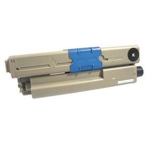 ESIVR44469801 - REMANUFACTURED 44469801 TONER, 3500 PAGE-YIELD, BLACK