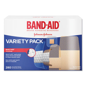 ESJOJ4711 - Sheer-wet Adhesive Bandages, Assorted Sizes, 280-box