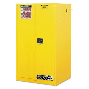ESJUS896000 - Sure-Grip Ex Standard Safety Cabinet, 34w X 34d X 65h, Yellow