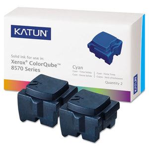 ESKAT39395 - 39395 Compatible 108r00926 Solid Ink Stick, Cyan, 2-bx